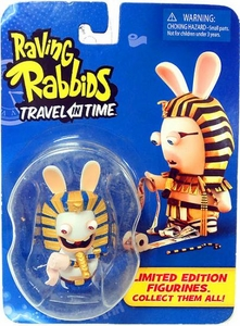 Raving Rabbids Travel in Time Collectible Figurine Pharoah