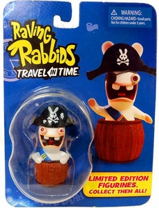 Raving Rabbids Travel in Time Collectible Figurine Pirate