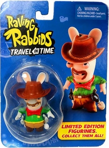 Raving Rabbids Travel in Time Collectible Figurine Cowboy