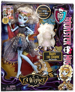 Monster High 13 Wishes Haunt the Casbah Exclusive Deluxe Doll Abbey Bominable