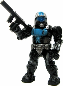 Halo Wars Mega Bloks LOOSE Mini Figure UNSC ODST Urban Specialist with Silenced SMG