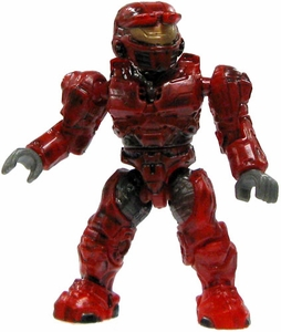 Halo Wars Mega Bloks LOOSE Mini Figure UNSC Red Spartan
