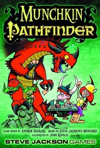 Board Game Munchkin Pathfinder Pre-Order ships July