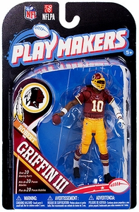 McFarlane Toys NFL Playmakers Series 4 Action Figure Robert Griffin III (Washington Redskins)