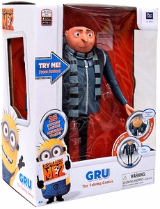 Despicable Me 2 Deluxe 11 Inch Figure with Sound Gru The Talking Genius