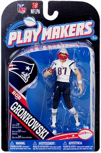 McFarlane Toys NFL Playmakers Series 4 Action Figure Rob Gronkowski (New England Patriots)