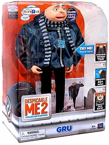 Despicable Me 2 Exclusive DELUXE 14 Inch Talking Interactive Figure Gru