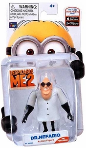 Despicable Me 2 Poseable 3 Inch Action Figure Dr. Nefario