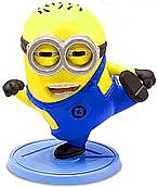 Despicable Me 2 PVC 2 Inch LOOSE Mini Figure Tom [Karate Kick]
