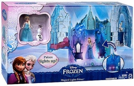 Disney Frozen Deluxe Playset Magical Lights Palace New Hot!