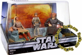 Star Wars Original Trilogy Action Figure Cinema Scenes Jedi High Council Anakin Skywalker, Saessee Tiin & Adi Gallia