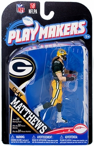 McFarlane Toys NFL Playmakers Series 4 Action Figure Clay Matthews (Green Bay Packers)