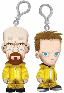 Mezco Toyz Breaking Bad 4 Inch Plush Clip-On Set Walter White & Jesse Pinkman Pre-Order ships July