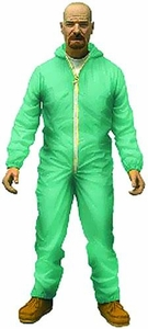 Mezco Toyz Breaking Bad Previews Exclusive 6 Inch Action Figure Walter White [Blue Hazmat Suit] New!