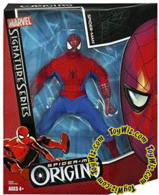 Spider-Man Hasbro Origins Action Figure Signature Series 1 Spider-Man