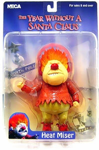 NECA The Year Without Santa Claus Action Figure Heat Miser