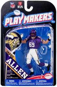 McFarlane Toys NFL Playmakers Series 4 Action Figure Jared Allen (Minnesota Vikings)