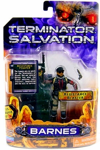 Terminator Salvation Playmates 3 3/4 Inch Action Figure Barnes