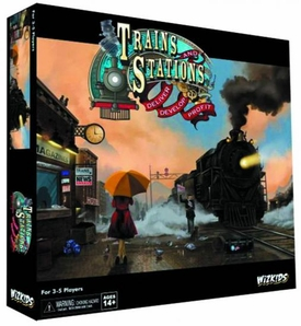 Trains & Stations Strategy Game Pre-Order ships April