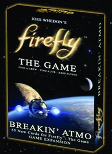Firefly Board Game Breakin Atmo Expansion New!