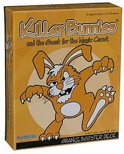 Card Game Killer Bunnies and the Quest for the Magic Carrot Yellow Booster Deck