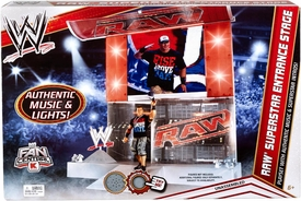 Mattel WWE Wrestling Exclusive RAW Superstar Entrance Stage [Authentic Music & Super Star Intros!]