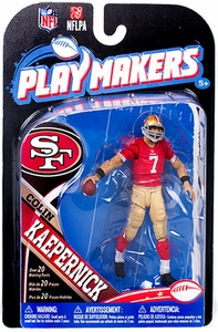 McFarlane Toys NFL Playmakers Series 4 Action Figure Colin Kaepernick (San Francisco 49ers)