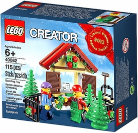 LEGO Exclusive Set #40082 Holiday 2013 Limited Edition Christmas Tree Stand