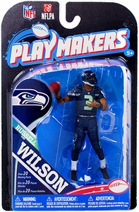McFarlane Toys NFL Playmakers Series 4 Action Figure Russell Wilson (Seattle Seahawks)