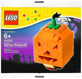 LEGO Halloween Mini Figure Set #40055 Halloween Pumpkin [Bagged]