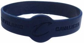 Official National Basketball Association NBA Team Rubber Bracelet Cleveland Cavaliers[Blue]