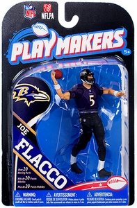 McFarlane Toys NFL Playmakers Series 4 Action Figure Joe Flacco (Baltimore Ravens)