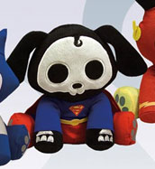 Skelanimals DC Heroes 6 Inch Plush Dax as Superman
