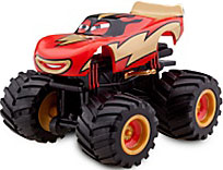 Disney / Pixar CARS Exclusive 1:55 Plastic Figurine LOOSE Frightening McMean [With Spinning Wheels!]