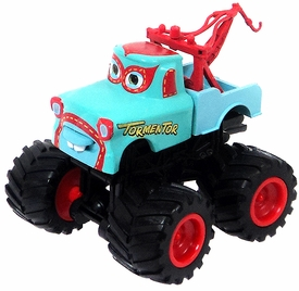 Disney / Pixar CARS Exclusive 1:55 Plastic Figurine LOOSE Tormentor [Light Blue Variant]