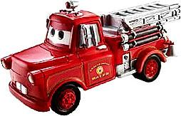 Firetruck Mater LOOSE Disney / Pixar CARS Movie 1:55 Die Cast Car Slight Chip On Hood!