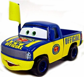 Lenticular Eyes Dexter Hoover [Random Color Flag!] LOOSE Disney / Pixar CARS Movie 1:55 Die Cast Car