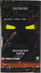 LEGO Bionicle Card Game Quest for the Masks Booster Pack BLOWOUT SALE!