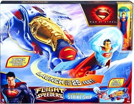 Man of Steel Movie Flight Speeders Kryptonian Strike Ship