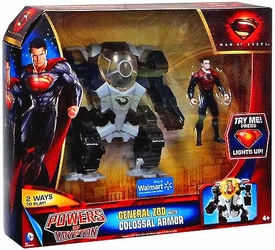 Man of Steel Movie Powers of Krypton Exclusive Action Figure General Zod with Colossal Armor