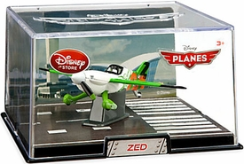 Disney Planes Exclusive 1:43 Die Cast Plane In Plastic Case Zed