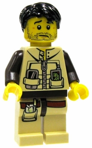 LEGO Dino LOOSE Complete Mini Figure Dino Hunter Scout 1