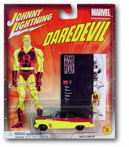 Johnny Lightning 1:64 Scale Diecast Marvel #5 Daredevil Bumongous