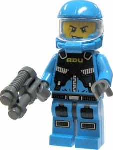 LEGO Alien Conquest LOOSE Alien Defense Unit Soldier with Smirk