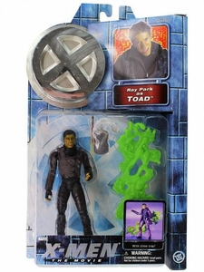 X-Men Movie Toy Biz Action Figure Ray Park as Toad [Slime Trap & Dog Tag]