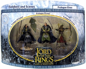 Lord of the Rings Armies of Middle Earth Soldiers And Scenes Prologue Elves