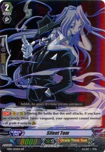 Cardfight Vanguard ENGLISH Extra Booster: Celestial Valkyries Single Card RR Rare EB05/006 Silent Tom