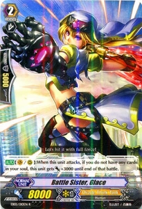 Cardfight Vanguard ENGLISH Extra Booster: Celestial Valkyries Single Card Rare EB05/010 Battle Sister, Glace