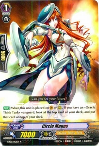 Cardfight Vanguard ENGLISH Extra Booster: Celestial Valkyries Single Card Rare EB05/012 Circle Magus