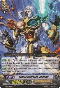 Cardfight Vanguard ENGLISH Extra Booster: Celestial Valkyries Single Card Common EB05/017 Oracle Guardian, Apollon